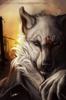 [GIFT] .:Can I stand?:. Speedpainting challenge by Lunegrimm