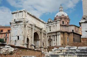 Rome - Arch of Septimus Severus 1 by Lauren-Lee