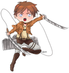 Chibi-eren by sugarbearkitty