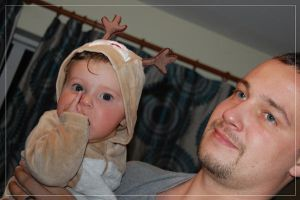 baby with dad by annnus