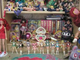 Sailor Moon episodes and toys by JCproductions