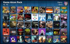 Game Aicon Pack 82 by HarryBana