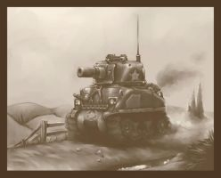 sherman by Tatonkus