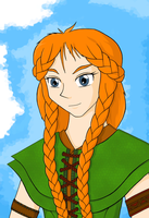 Tenel Ka: The Rare Smile by RelativelyBest