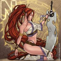 N is for Nariko by Arzeno