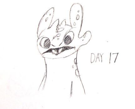 Inktober Day 17 by ShadowSpyProductions