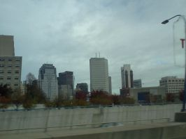 Boston Trip - View on the Bus by Spooneh21