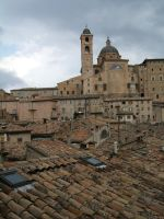 Roofs of Urbino... by mirator