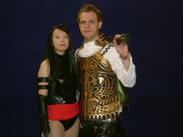 Balthier and X-men character by Wakaleo