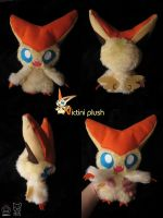 Victini plush by Siplick