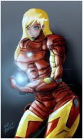 Iron Woman by konoha-paradise