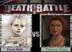 Two girls named Fiona death battle. by Astrogirl500