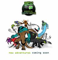 ben 10 om teaser coloured by omnitrixradiation126