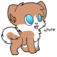 Benji Sticker 002 by Hyper-Kitteh