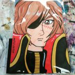 Captain Harlock Card Commission by the-kid36