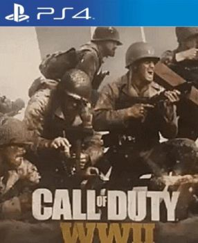 Call of duty World War II PS4 cover by 619rankin