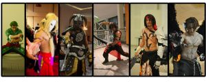 some of my Cosplays by vega147