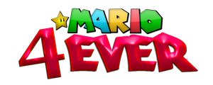 Mario4Ever (New Logo) by sonic4ever760