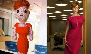 Amigurumi Mad Men: Joan by smapte