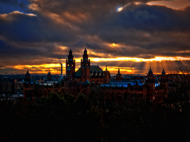 Last Friday in Glasgow -36- by IoannisCleary