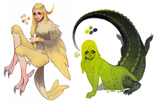 Monster Girl Adopts! OVER! by pharmacon