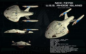 Nova variant ortho - USS Rhode Island (Updated) by unusualsuspex