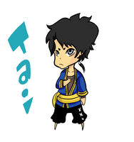 ART TRADE: Chibi Tai by monkeyoo