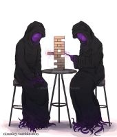Dark Evil Jenga o_o by Nimsley