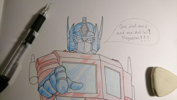 Optimus Prime by Shreddinghead