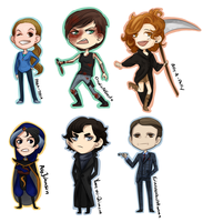 Contest Chibis by strxbe