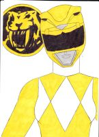 Mighty Morphin' Power Rangers 04 Yellow Ver. 1 by SeptimusParker