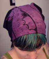 Purple tentacle bandanna by missmonster