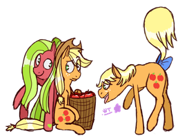 MLP Applejack Generation by WolfyTails