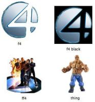 Fantastic Four Movie Icons by markdelete
