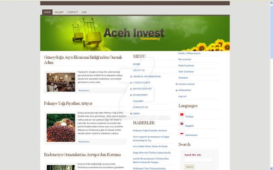 Aceh Invest Web by zakir7