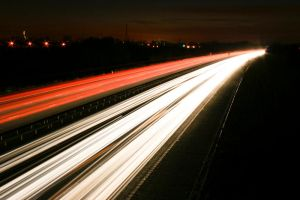 M3 Motorway Traffic Trails - 7 by fruitycube