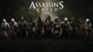 Assassin's Creed HD wallpaper 4 by teaD by santap555