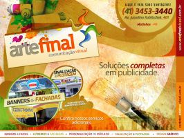 Flyer - Arte Final by luh-yart