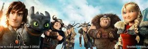 HTTYD2 05 BestMovieWalls dual by BestMovieWalls