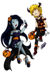 initiating halloween: Finn x Marceline by KarLa-Eriza