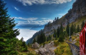 Going up the mountain by roman-gp