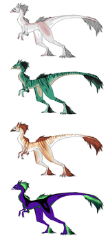TCM: Taesini Adoptables (SOLD) by LivingAliveCreator