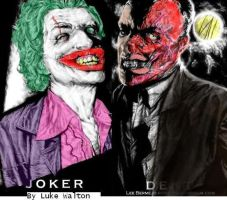 Joker and Two Face by JokerzClub