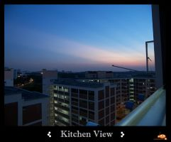 Kitchen View by ruinlord