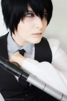 Hibari Kyoya - Cosplay by BLUEsteelProductions