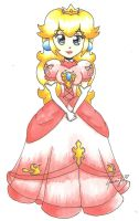 Princess Peach by SuperTawaifaQueen