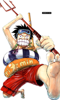 Luffy Render - One Piece by misscelles