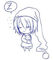 i want to sleep so badly TAT by Leversa