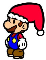 Christmas Mario by Happenstance67