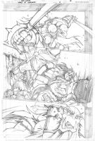 Warcraft comics2 pencils 2 by LudoLullabi